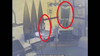 Spirit Shadows in a Mirror, and a Vase Ghost Sightings and Hauntings