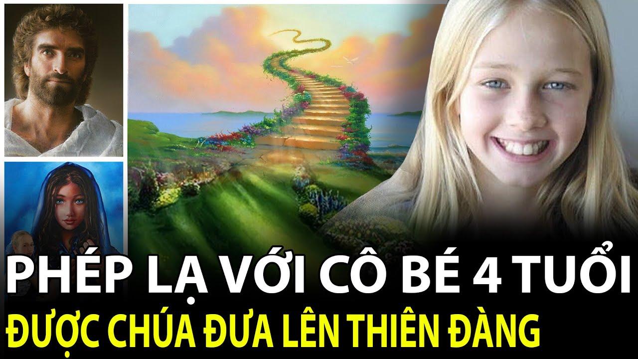 """""""Huyền bí"""" Cô Bé được Chúa đưa lên Thiên Đàng lúc 4 tuổi. Trở thành thiên tài vẽ tranh Chúa & Đức Mẹ"""