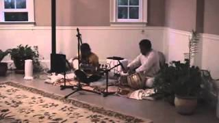 An Evening of Indian Music at the Sinhas Raag Kirwani  Part Two