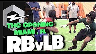 🔥 The Opening Regionals | Miami Florida | RB v LB | 1v1s | Under The Radar Highlight Mix