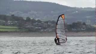 Windsurfing at Exmouth with Pete Dean