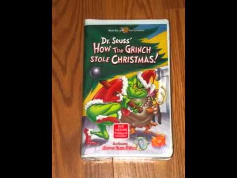 Opening to How the Grinch Stole Christmas 2000 VHS (Animated ...