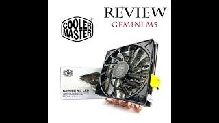 Cooler Master GeminII M5 LED CPU Air Coller Indonesia Review