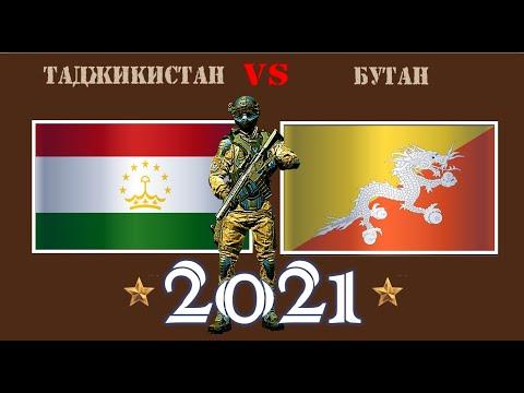 Таджикистан VS Бутан 🇹🇯 Армия 2021 🇧🇹 Сравнение военной мощи