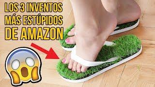 Los 3 inventos MÁS ESTÚPIDOS de AMAZON