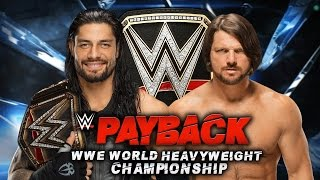 WWE Payback 2016 Reaction: Roman Vs AJ: Enzo Amore Injured