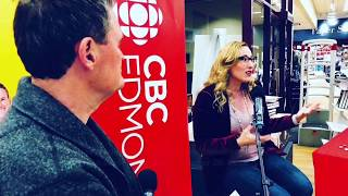 Author Alexis Marie Chute on CBC Radio Edmonton AM with Mark Connolly