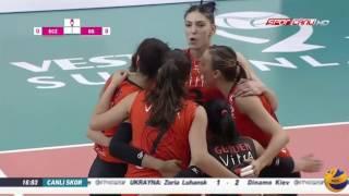 eczacibasi vitra vs galatasaray   25 feb 2017   turkish women s volleyball league 2016 2017