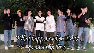 What Happens When Exo Go On A Trip Pt 4