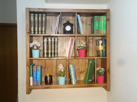 DIY - Wooden Bookshelf / Bookcase DIY - Wooden Bookshelf / bookcase