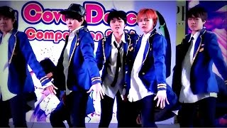 """10tion Up"" cover ""So, Dangerous(Up10tion)+Dil Laga Na(Dhoom:2)"" @ ""Siam U. Cover Dance 2016"""