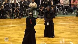 14th All Japan Invitational 8 dan Kendo Championships — Quarter final 3