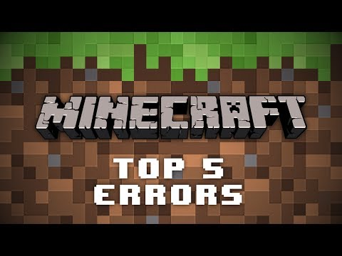 Top 5 Minecraft Server Errors (And How To Fix Them)
