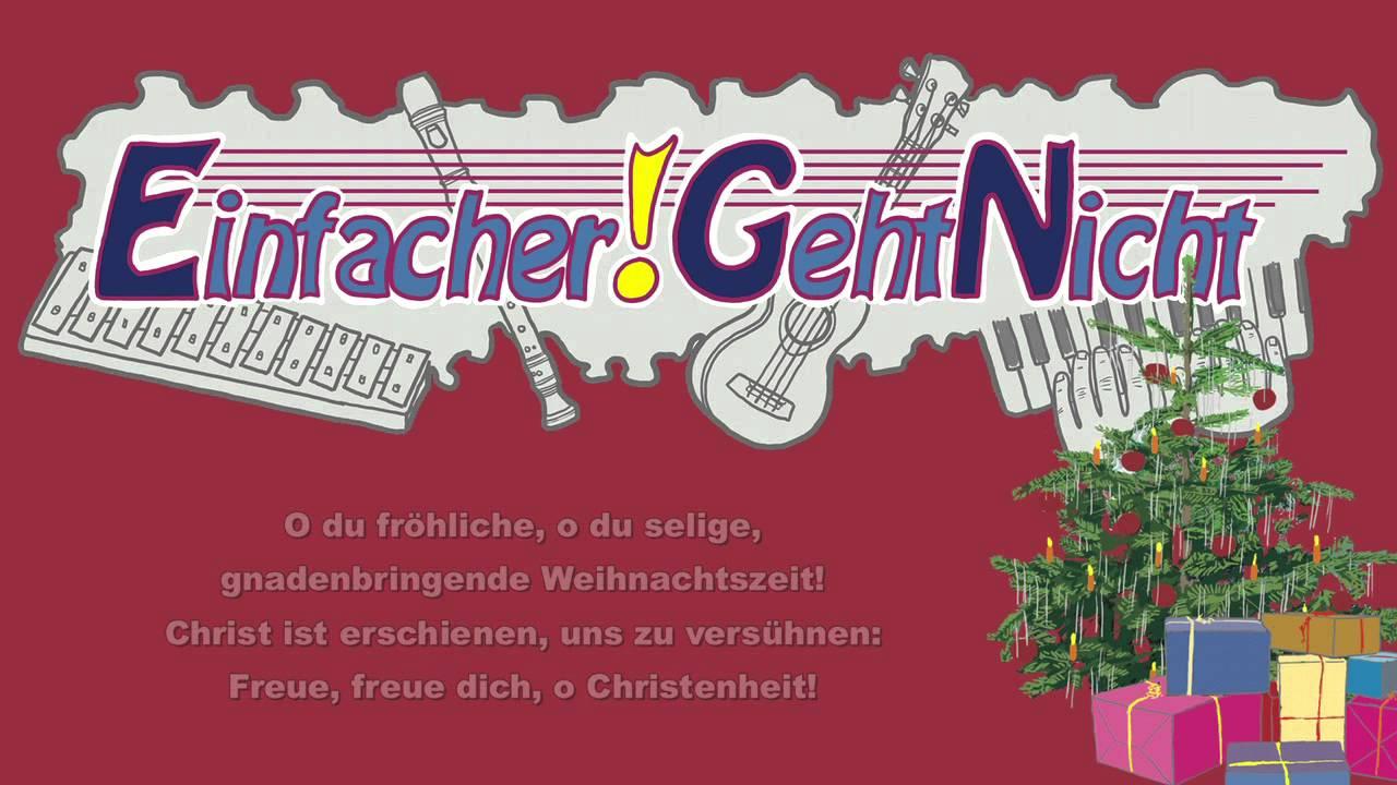 O du fröhliche, o du seelige (Instrumental Weihnachtslied) - YouTube