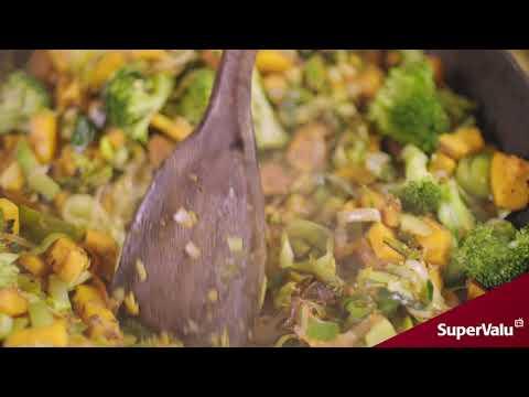 Sweet Potato & Broccoli Creamy Casserole by The Happy Pear