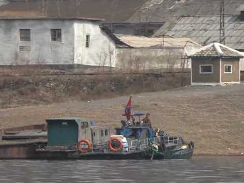 A rare glimpse into N.Korea from across the Yalu river