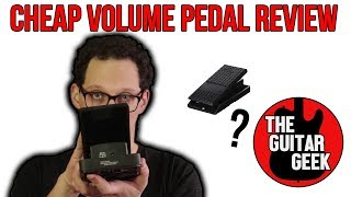 Behringer FCV100 Volume pedal review - IS €30 TOO CHEAP?