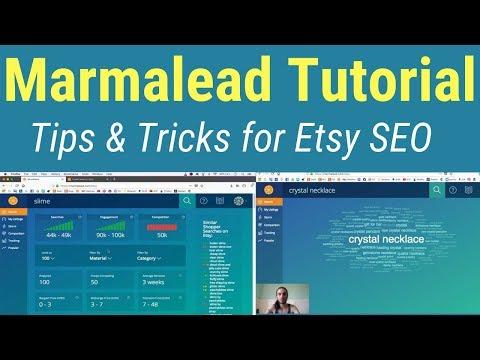 Marmalead Tutorial (Etsy SEO tips and tricks)