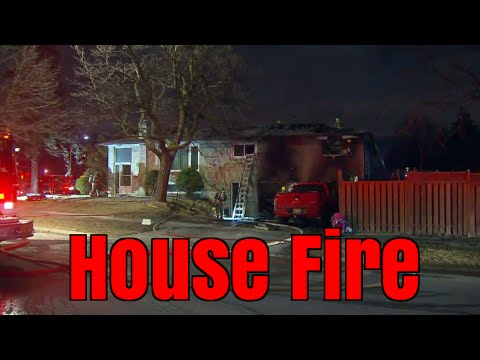 House on fire in Mississauga! During and after footage. Hit and Run, one crazy week.