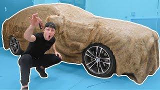 INSANE FUR PRANK ON ROOMMATES CAR!!