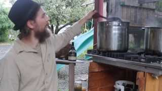 Making Elderberry Syrup with Yarrow Willard part 2