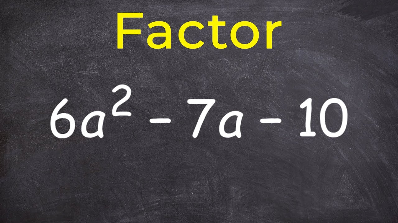 Factoring Practice  Learn How To Factor  Step By Step Math Instruction