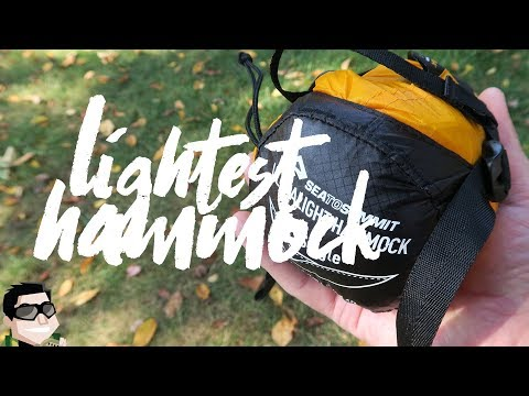 World's Lightest Hammock Sea To Summit Ultralight