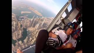 Teatrzyk Geriatrzyk w Dubai 2012- skok zapoznawczy