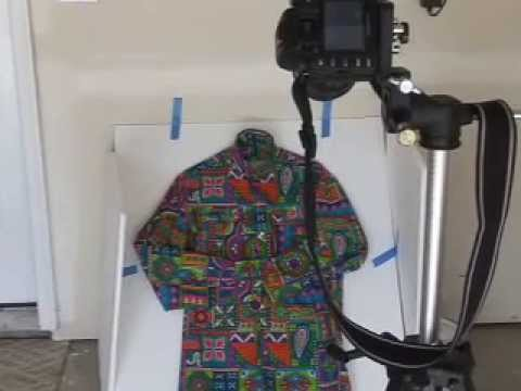 Clothing in the Light Box