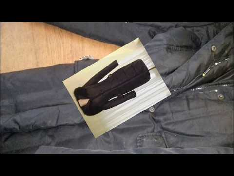 Как укоротить куртку на синтепоне