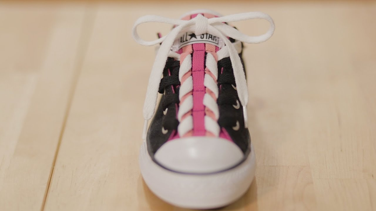 d441220c03fe Creative Ways to Lace Converse Loopholes - YouTube
