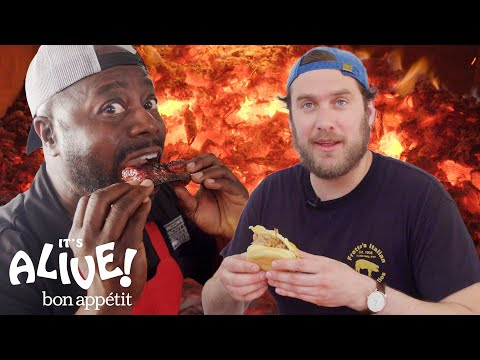 Brad Makes Whole Hog BBQ with Rodney Scott | It's Alive | Bon Apptit