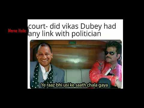 Latest funny memes||funny memes on vikas dubay encounter|| legandry memes||