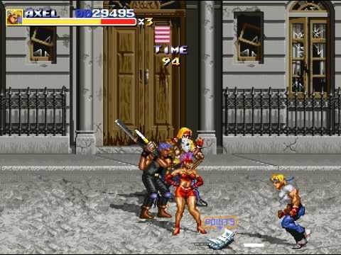 Streets Of Rage Remake 5.1 Download
