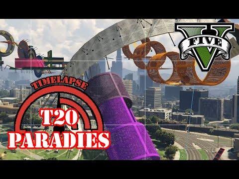 T20 WALLRIDE FLIP + TROLL! GTA 5 TIMELAPSE ★ GTA 5 Online Custom Maps Editor | PowrotTV