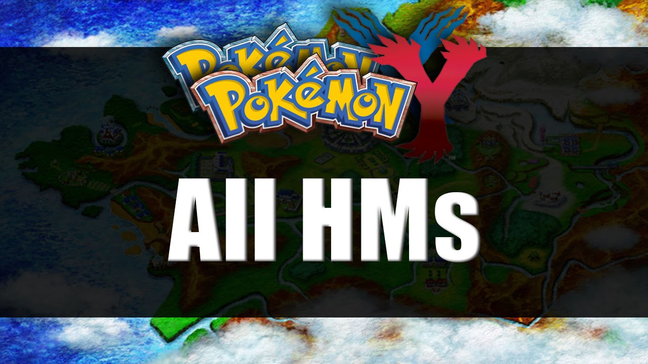 Pokemon X & Y | All HM Locations - YouTube