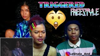 JHENE AIKO - TRIGGERED (FREESTYLE) OFFICIAL VIDEO) REACTION!!!