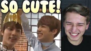Video Jin & Jungkook (Jinkook) Bickering Moments Reaction | BTS download MP3, 3GP, MP4, WEBM, AVI, FLV Juli 2018