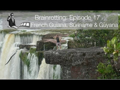 Brainrotting Episode 17 -  French Guiana, Suriname & Guyana BMW F650 GS Adventure Motorcycle Tour