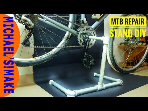 Mountain Bike Repair Stand || DIY