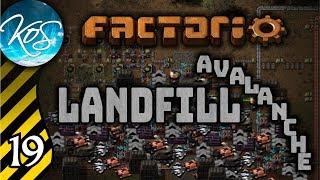 Landfill avalanche