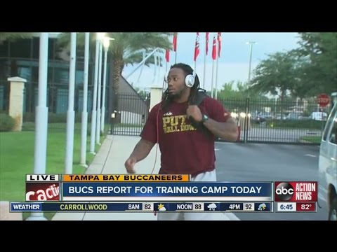 Tampa Bay Buccaneers open 2014 training camp