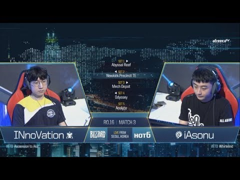 [GSL vs. the World 2017] Ro.16 Day1 Match3 INnoVation vs iAsonu