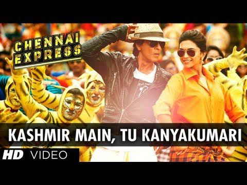Kashmir Main Tu Kanyakumari Chennai Express Song  Shahrukh Khan, Deepika Padukone