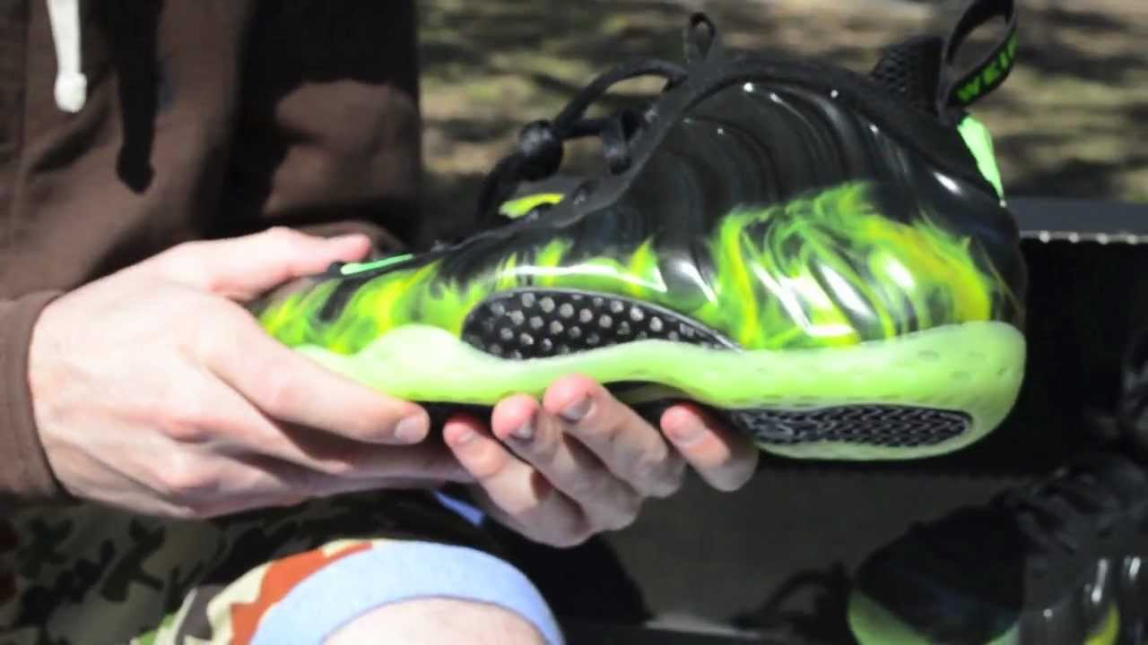 68699f5718e42 Nike Foamposite ParaNorman Review on Feet - YouTube