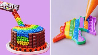 Fun & Exciting Chocolate Cake Decorating Ideas | Most Satisfying Colorful Cake Tutorials