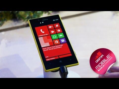 MWC 2013: Nokia Lumia 520/720