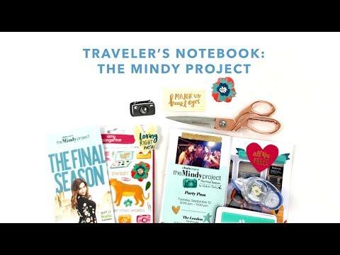 Mindy Project   Traveler's Notebook