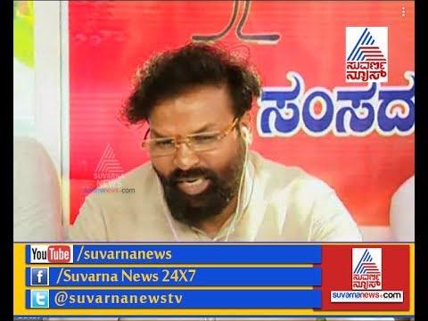 BJP MP Sriramulu On Congress Disrupting Parliament | ಸಂಸದರಿಂದ ತಮ್ಮ ಕ್ಷೇತ್ರಗಳಲ್ಲಿ ಉಪವಾಸ