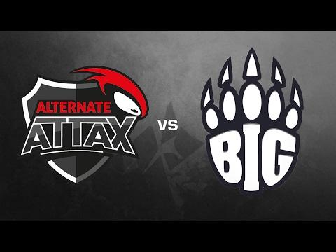 ALTERNATE aTTaX vs. BIG - IEM Katowice 2017 EU Open Qual. #2 de_dust2